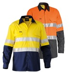 Bisley 3M Taped Hi Vis Mens Shirt