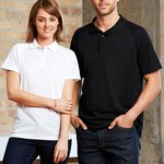 Mens Biz Collection Cooldry Sprint Polo