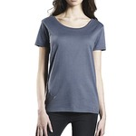 Earth Positive Organic Womens Open Neck T Shirt