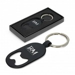 Laser Engraved Bottle Opener Keyring