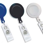 Yo-Yo Retractable Badge Reel Unprinted